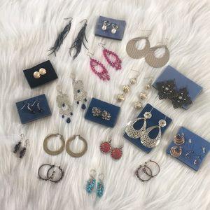 Bundle of 20 Pairs of Avon Earrings